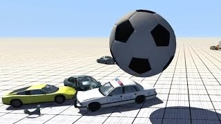 Giant Inflatable Ball - BeamNG.drive