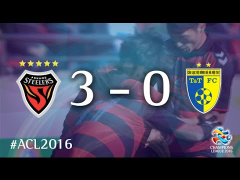 POHANG STEELERS vs HANOI T&T: AFC Champions League 2016 (Playoffs)
