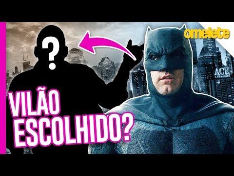 FINALMENTE! QUEM É O VILÃO DE THE BATMAN