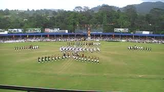 Army Tattoo Military & Brass Bands Display @ Nawalapitiya - Sri Lanka Army Band - Anjula De Soysa