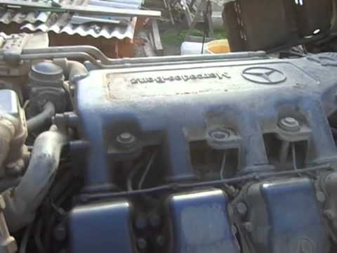 mercedes benz semi davco fuel filter engine start mercedes-benz om502la after changing the fuel ...