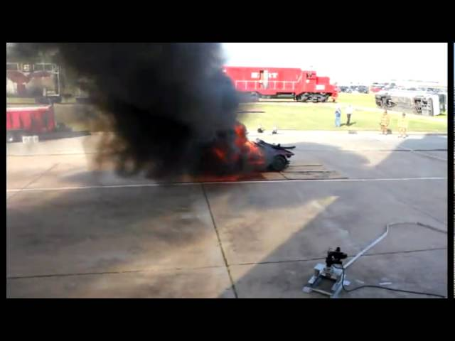 Tri-Max Super 280 with Foam Monitor Package live fire demonstration
