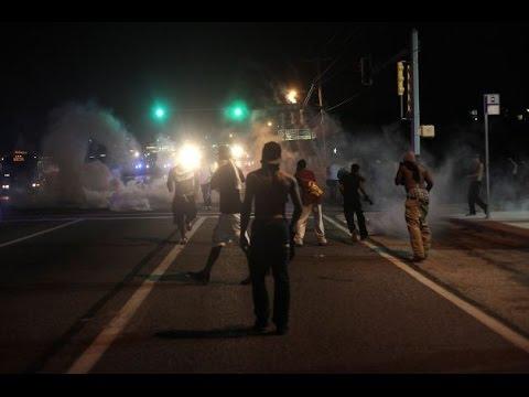Ferguson Protesters Converge On Downtown Nashville