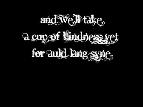 Auld Lang Syne by Lea Michele (Lyrics On Screen)