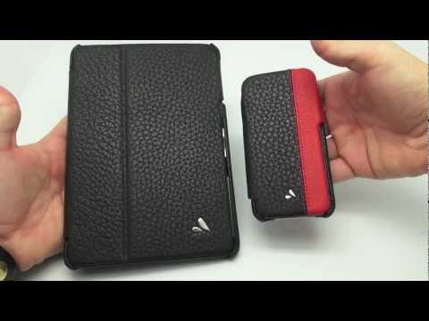 VAJA Libretto iPad Mini and Agenda LP iPhone 5 Cases Reviewed