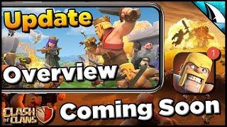 *Update Overview* Recap of Sneak Peeks - Coming Soon | Clash of Clans