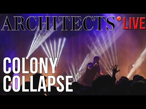 Architects - Colony Collapse (LIVE) in Gothenburg, Sweden (24/10/2016)