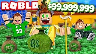 WE GET +99,999,999$ MONEY on ROBLOX !!