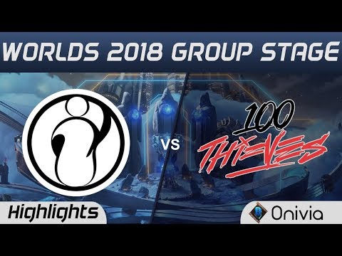 IG vs 100 Highlights Worlds 2018 Group Stage Invictus Gaming vs 100 Thieves by Onivia