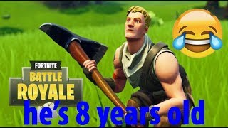 FORTNITE CREATIVE WITH THE FUNNIEST 8 YEAR-OLD KID