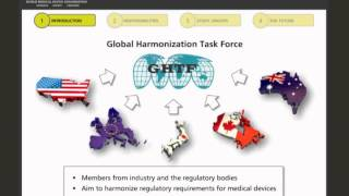 Introduction to the GHTF or IMDRF