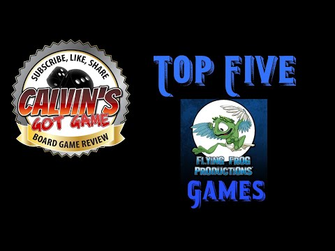 CGG: Top 5 Flying Frog Productions Games