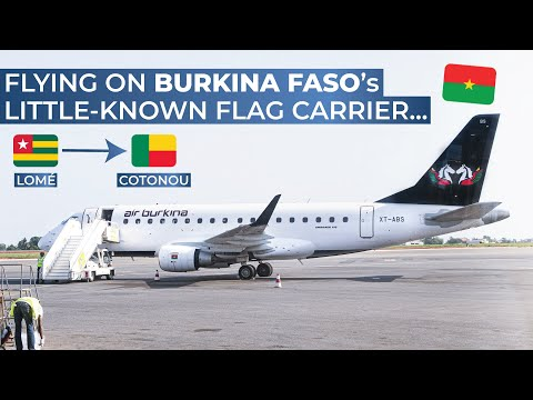 TRIPREPORT | Air Burkina (ECONOMY) | Lomé - Cotonou | Embraer 170