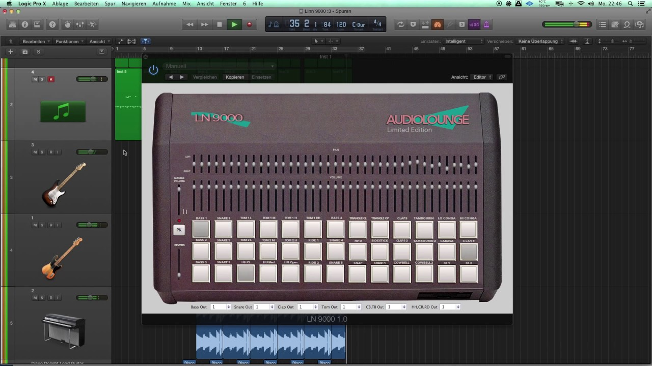 Audiolounge Plug-in - audiolounge-pros Webseite!