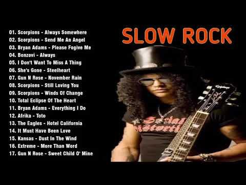 📻Lagu Nostalgia Slock Rock Barat 90'an Terbaik dan Terpopuler - Slow rock love song nonstop