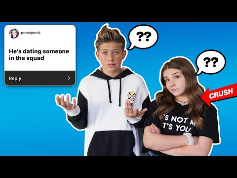 MY CRUSH REACTS TO INSTAGRAM ASSUMPTIONS ABOUT ME *FUNNY CHALLENGE*| Walker Bryant, Piper Rockelle