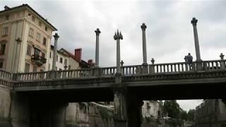 リュブリャナ・リュブリャニカ川 ボートツアー(River Ljubljanica Kanal)~スロベニア thumbnail