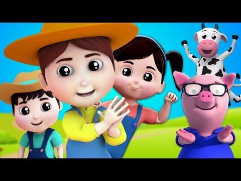 Se sei felice e lo sai | filastrocche | Musica per Bambini | If You Are Happy | Farmees Italiano