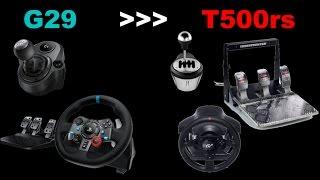 Wechsel vom G29 zum Thrustmaster T500RS