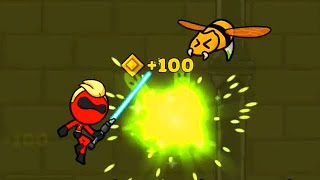 Red Stickman : Level - 30 Fighting Android & IOS Gameplay