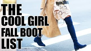 THE BOOTS THAT MAKE YOUR OUTFIT