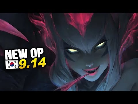 7 New OP Builds and Champs in Korea Patch 9.14 SEASON 9 (League of Legends)