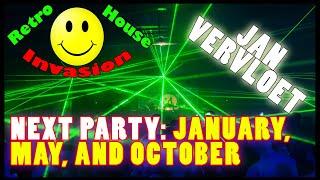 Jan Vervloet Retro House Invasion 2019