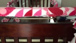Diy Fleece Teething Guard For Cribs
