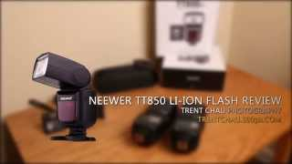 Neewer TT850 Flash Review - Lithium Ion Flash