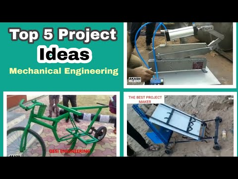 Top 5 Projects for Mechanical Engineering Students | Get project Ideas Make some Innovations
