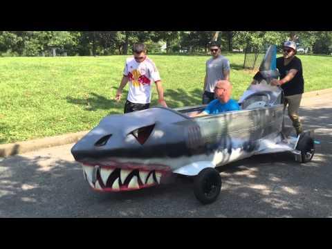 Red Bull Cincinnati: Space Shark-Start to Finish