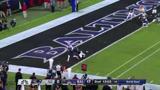 Mohamed Sanu Touchdown   Patriots vs Ravens