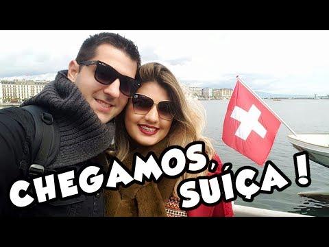 VLOG - EUROTRIP | Genebra: Jet D'Eau, Broken Chair, Sede Européia da ONU e mais!