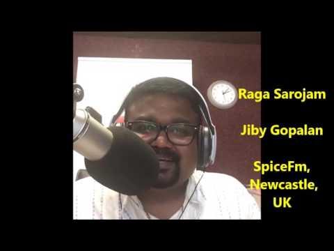 Jiby Gopalans radio show Ragasarojam Sreekumaran Thampi 16072016