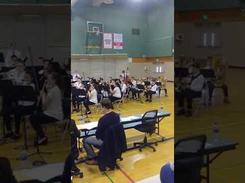 Chehalis middle school jr. High concert band 2019(2)