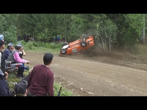 Neste Oil Rally 2015  (crash & Action)