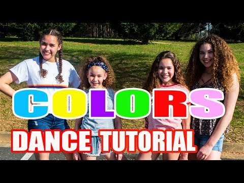 Haschak Sisters - Colors (Dance Tutorial)