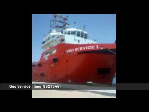 Kosmos supply vessel Geo Service 1 in occupied Western Sahara