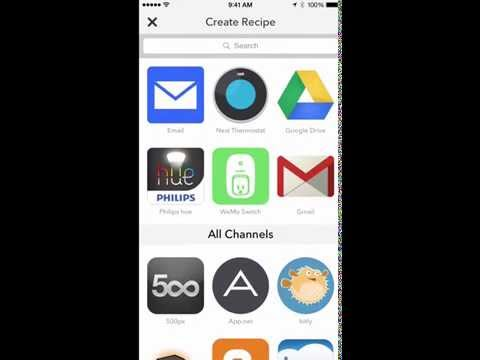 Numerous and the Do Button app from IFTTT