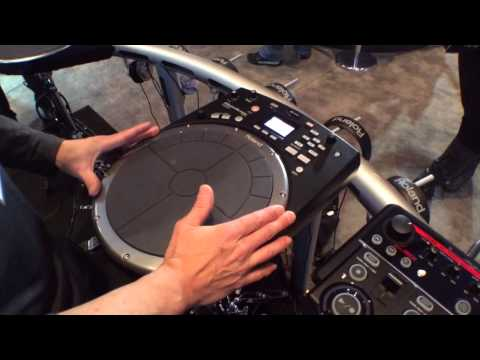 2014 Winter NAMM Show - Roland HPD-20 HandSonic Digital Hand Percussion Unit