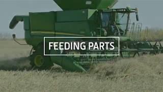Combine Feeding Parts