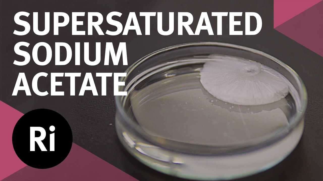 Supersaturated Sodium Acetate   Tales from the Prep Room ...