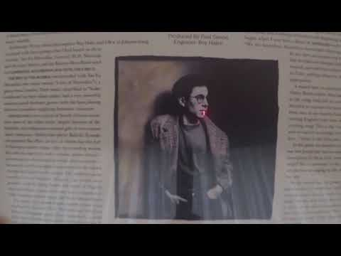 Unboxing: Paul Simon Graceland (Maroon Vinyl) LP