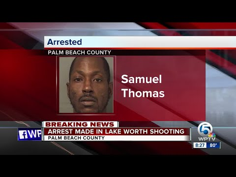 Suspect arrested in July 3 Lake Worth shooting