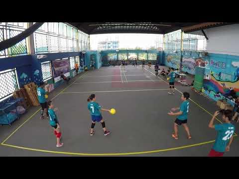 Singapore Dodgeball League 2017   Midget Spinners vs Victorious Secret (Week 10)
