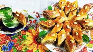 БАКЛАВА жемчужина арабских восточных сладостей Baklava