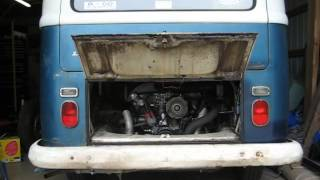 68 Vw Bus 1776 cc engine idling