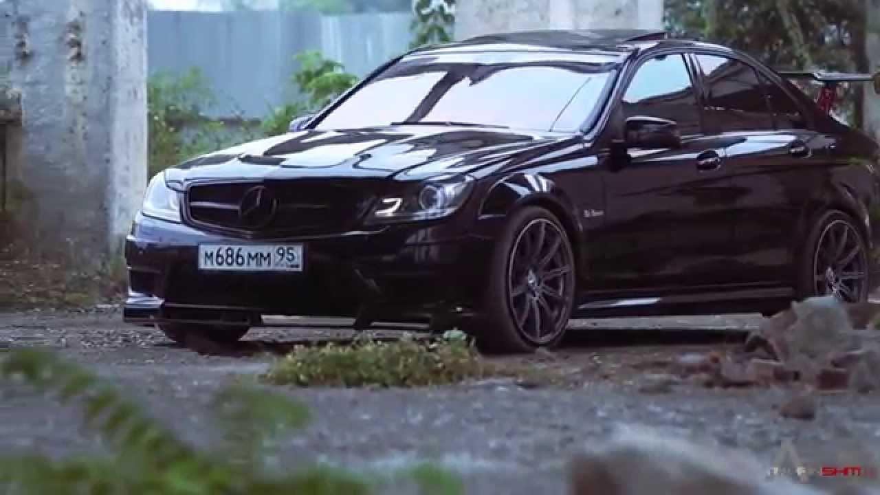 Mercedes benz c63 amg w204 zelimkhanshm youtube for Mercedes benz w204
