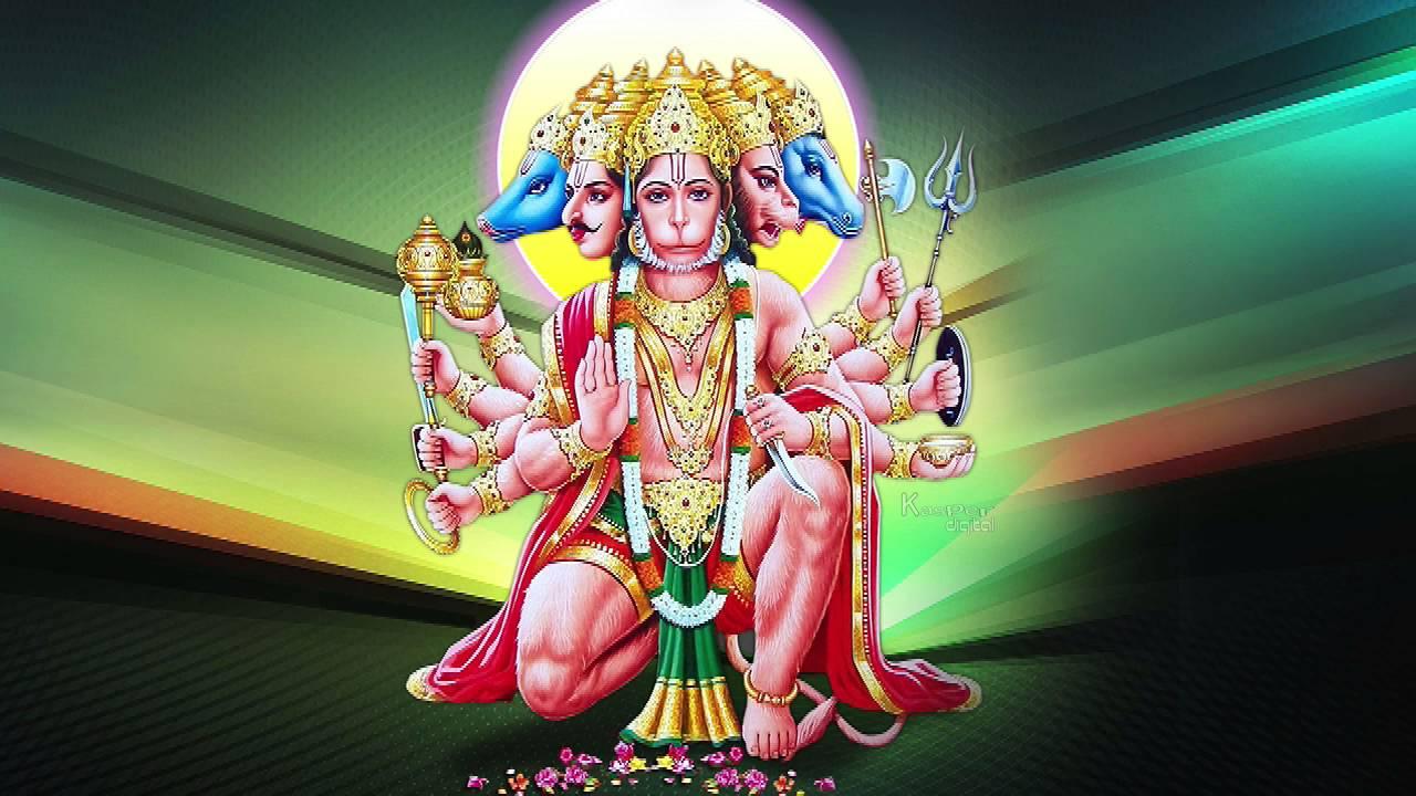 Panchmukhi hanuman bhajan jay jay ram new latest song youtube - Panchmukhi hanuman image ...