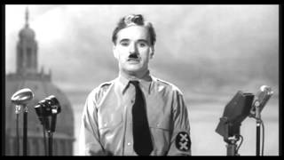 Greatest Speech Ever Charlie Chaplin The Great Dictator